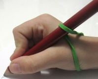 rubber band grip